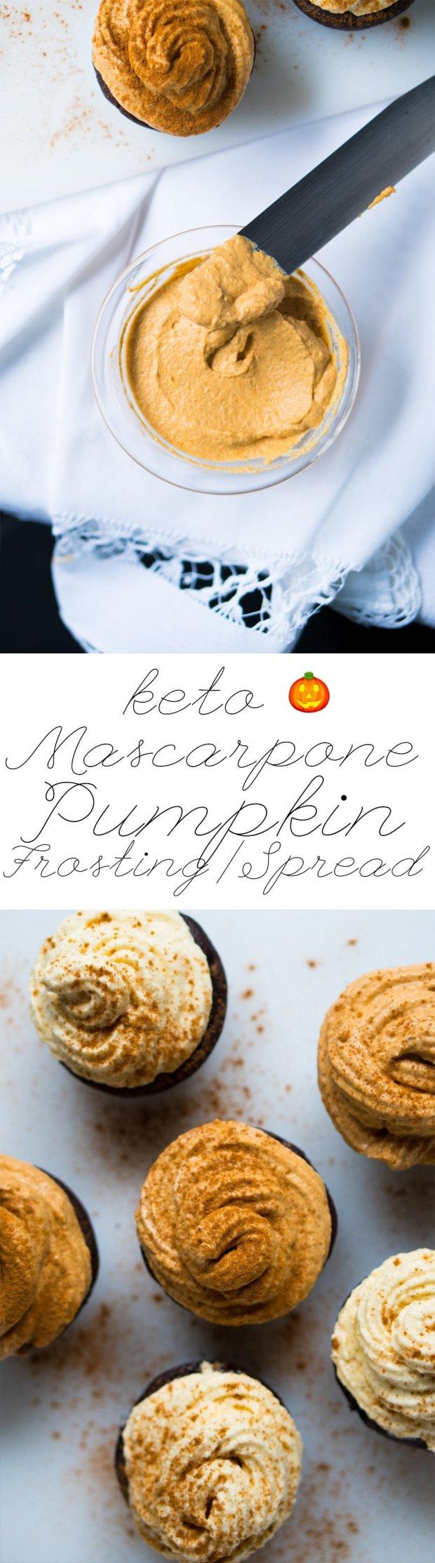 Keto Pumpkin Mascarpone Frosting (or Spread) ?