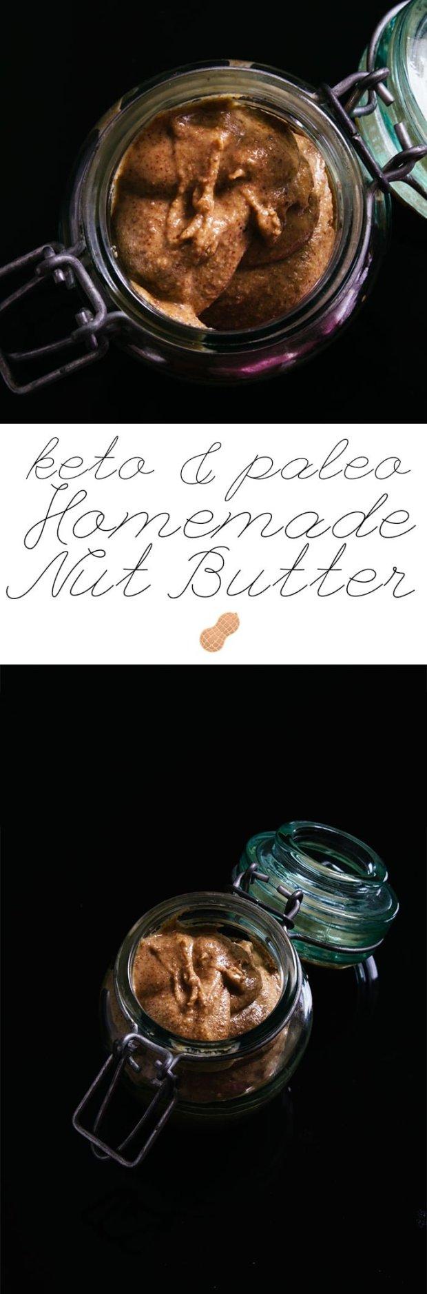 Paleo & Keto Homemade Nut Butter 🥜 #ketopeanutbutter #ketoalmondbutter
