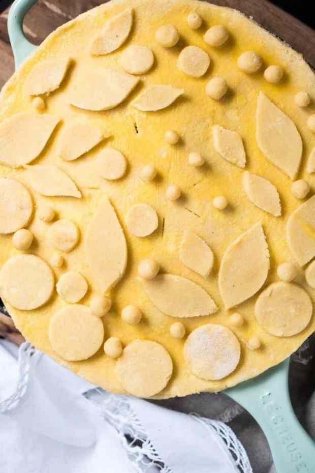 Gluten Free & Keto Chicken Pot Pie 🐓 #ketochickenpotpie #ketochicken