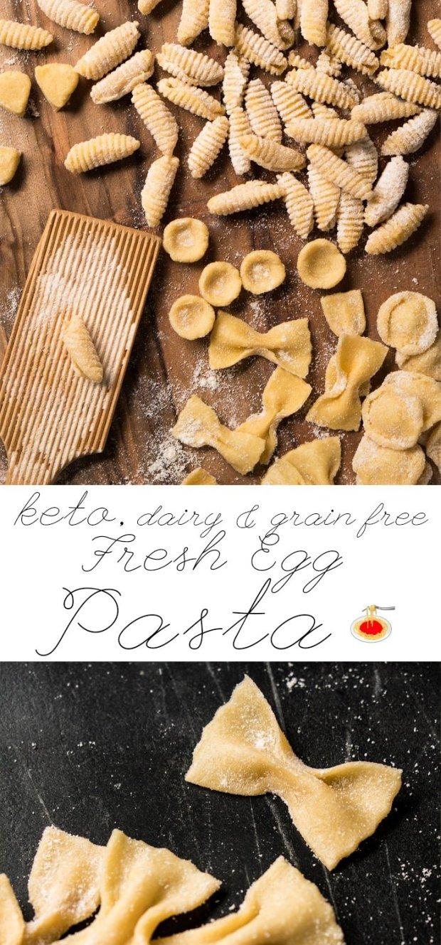 Fresh Egg Grain Free. Dairy Free & Keto Pasta 🍝 #keto #ketodiet #lowcarb #healthyrecipes