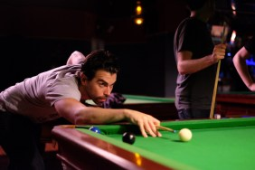 Javier Jardón at Le Snooker. (Photo by Garrett LeSage.)
