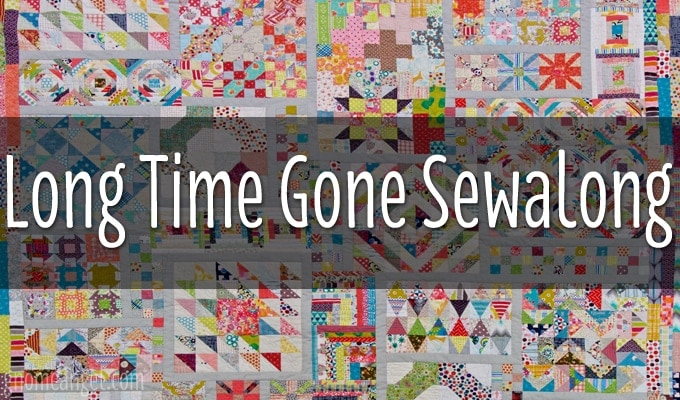 Week 9 | Long Time Gone Sew-along | Log Cabin Block - GnomeAngel : gone quilting - Adamdwight.com
