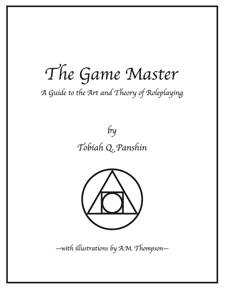 Review: The Game Master, by Tobiah Panshin