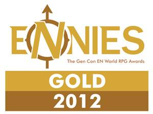 Gnome Stew and Masks Took Home Two Golds at the 2012 ENnie Awards! THANK YOU!