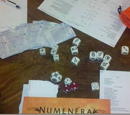 Collaborative GMing The Same Session in Numenera