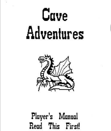 Cave Adventures: My First Attempt at Game Design