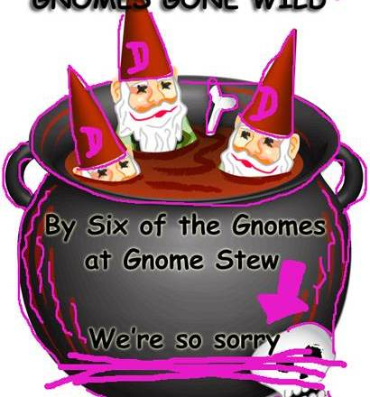 "Download Our Free Adventure, ""Gnomes Gone Wild"" (with our apologies)"