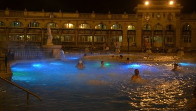 Széchenyi Thermal Bath in Budapest