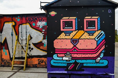 NDSM graffiti