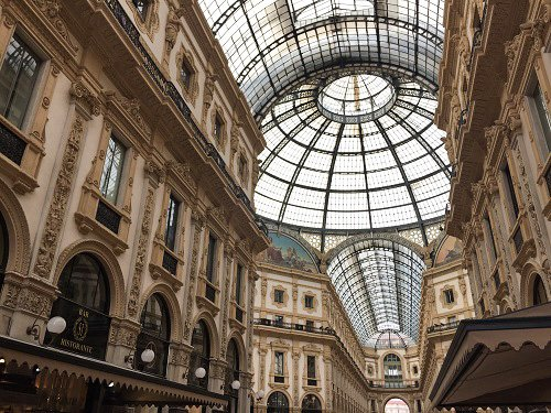 The Galleria Vittorio Emanuele II is the most beautiful mall you'll ever see.