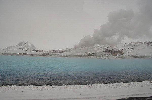 Iceland mud pits