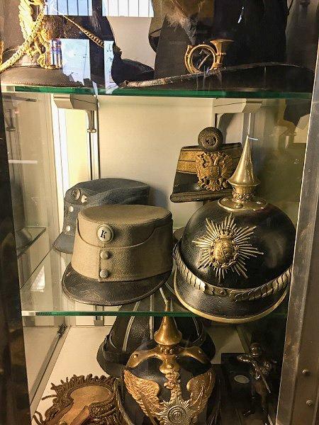 antique war memorabilia