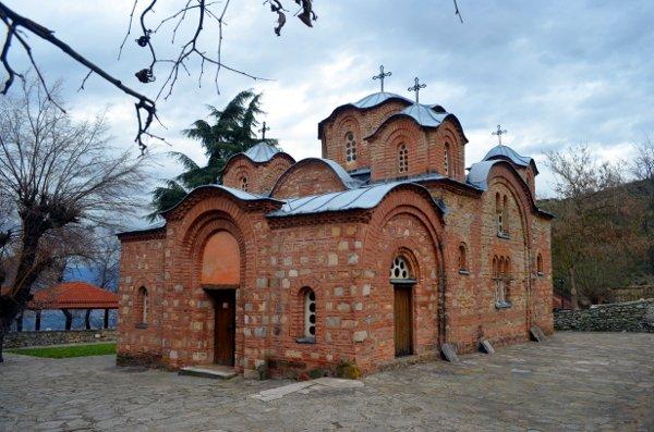 around skopje Church of St. Panteleimon.