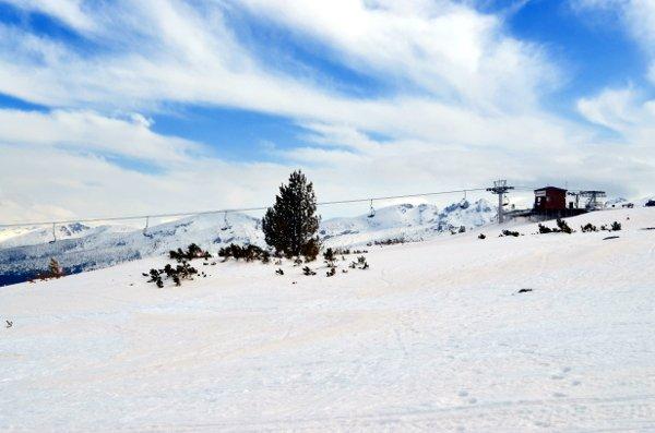 seven rila lakes in winter