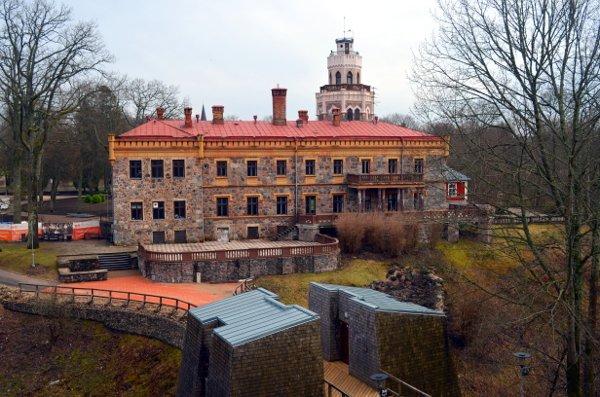 three-castle hike sigulda latvia
