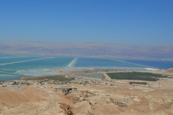 driving to the dead sea