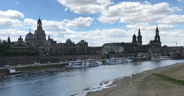 dresden itinerary elbe river