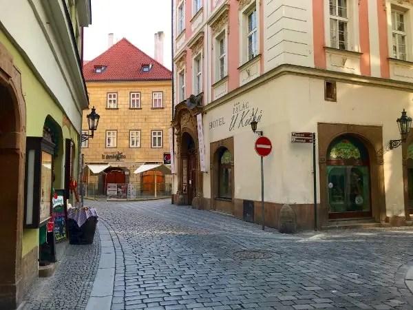 old town prague in quarantine