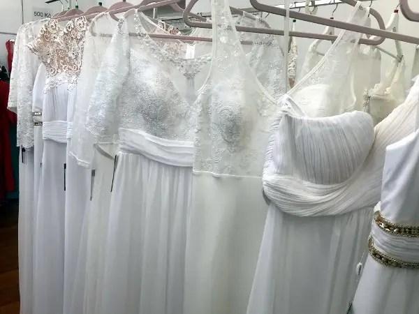 wedding dress in prague