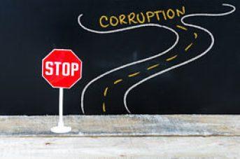camino a la corrupción
