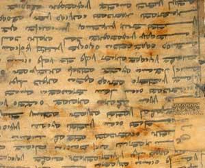 Manuskrypt modlitewny Manda