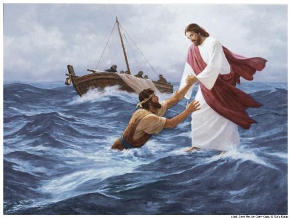 E ele disse-lhes: Por que temeis, homens de pouca fé? Então, levantando-se, repreendeu os ventos e o mar, e seguiu-se uma grande bonança. (Mateus 8:26)
