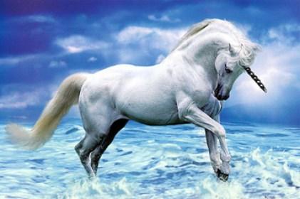 O Unicórnio e o cavalo Pégaso são representações da Essência Divina, liberta do Ego
