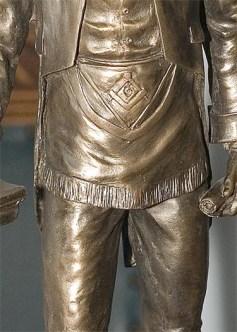 O mandil sempre foi usado, até mesmo entre os maçons do Antigo Egito