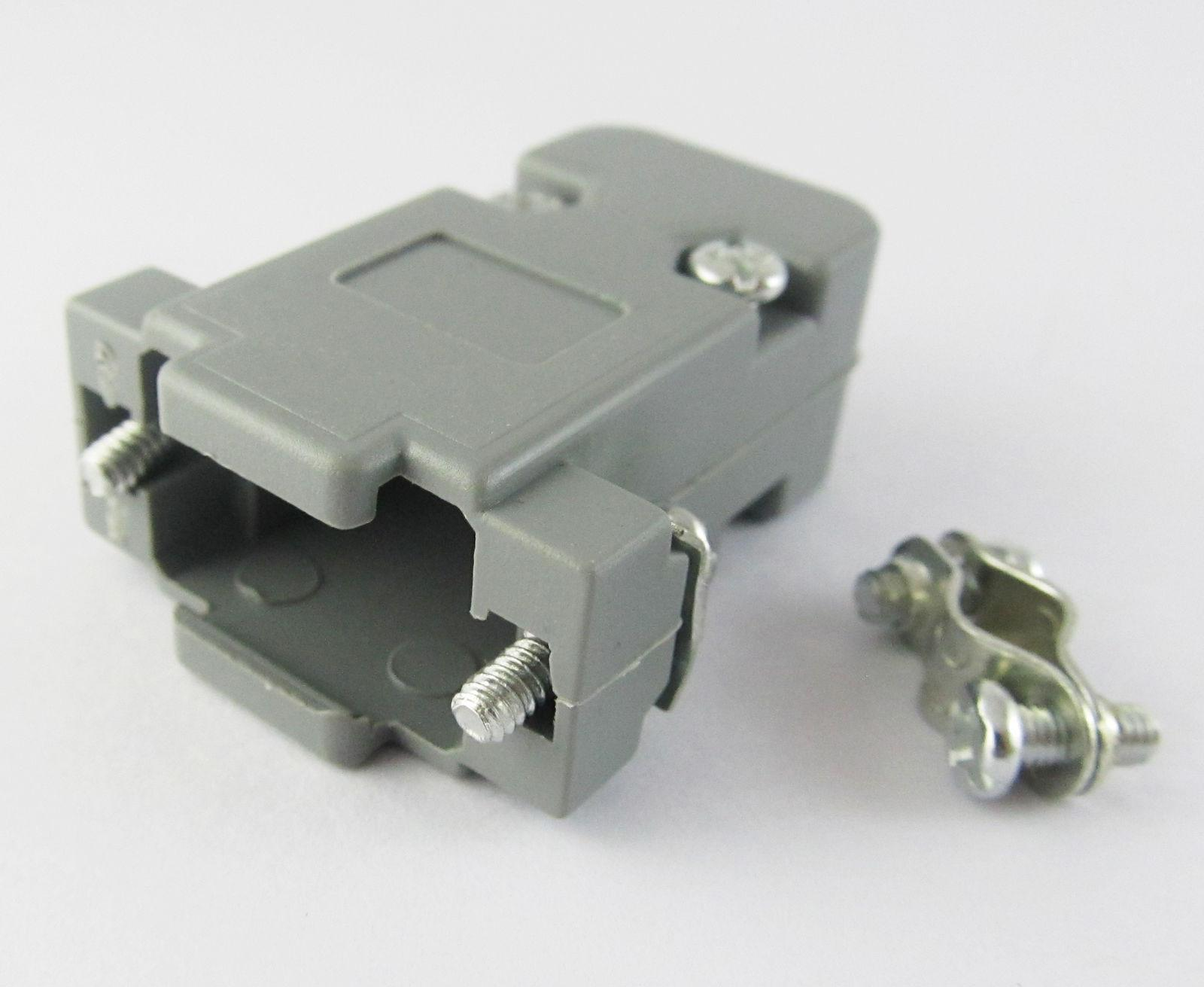 Plastic Cover For Db9 Db15 9pin 15pin D Sub Connectors