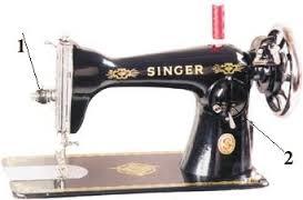 طريقة تركيب الخيط العلوى فى ماكينة الخياطة