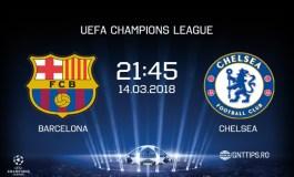 Ponturi fotbal – Barcelona – Chelsea – UEFA Champions League – 14.03.2018