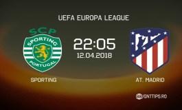 Ponturi fotbal - Sporting - Atletico Madrid - UEFA Europa League - 12.04.2018