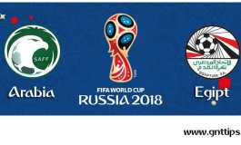 Ponturi fotbal - Arabia Saudită - Egipt- Campionatul Mondial - Grupa A - 25.06.2018