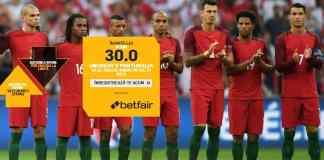 Uruguay vs Portugalia - cota 30.00 pentru un gol marcat