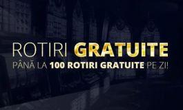 Pana la 100 de rotiri gratuite pe zi in cazinoul Sportingbet