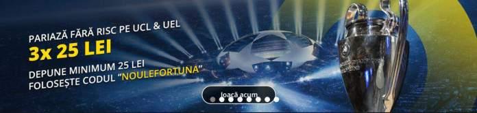 codul bonus eFortuna