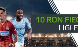 10 ron pentru fiecare gol marcat in meciurile alese din Ligile Europene