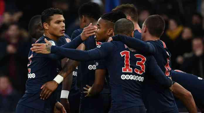 St. Etienne vs. Paris Saint Germain