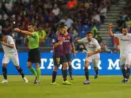 pariurile live pe Sevilla vs. Barcelona