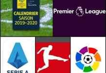 Cand incep campionatele de fotbal europene 2019/2020