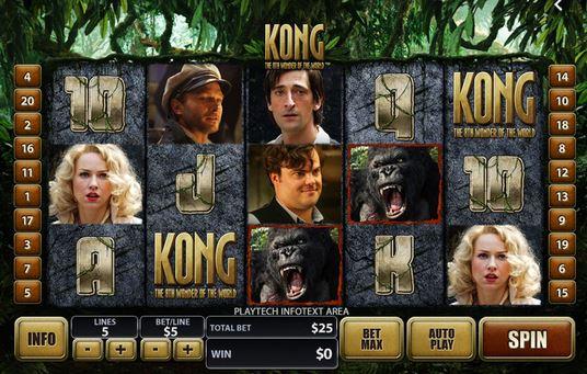 Kong slot