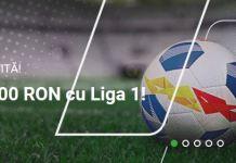 Castiga 20.000 RON la meciurile din Liga I 20-23 septembrie