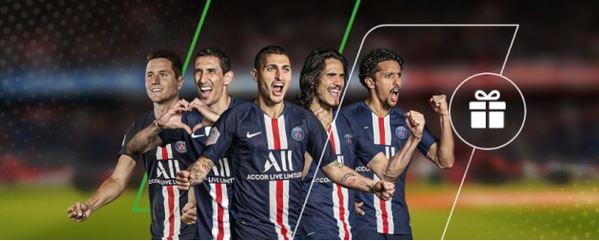 tricou PSG semnat de jucatori