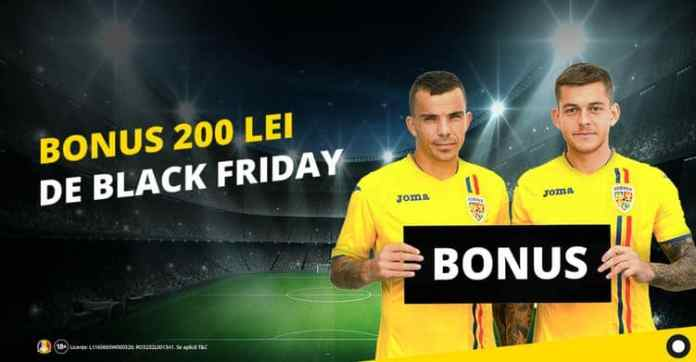 Black Friday la pariuri
