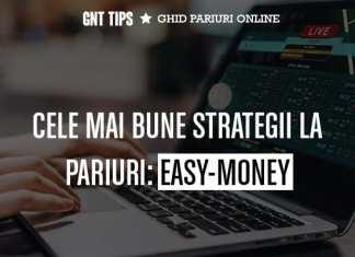 Easy Money este una din cele mai simple si eficiente strategii la pariuri.