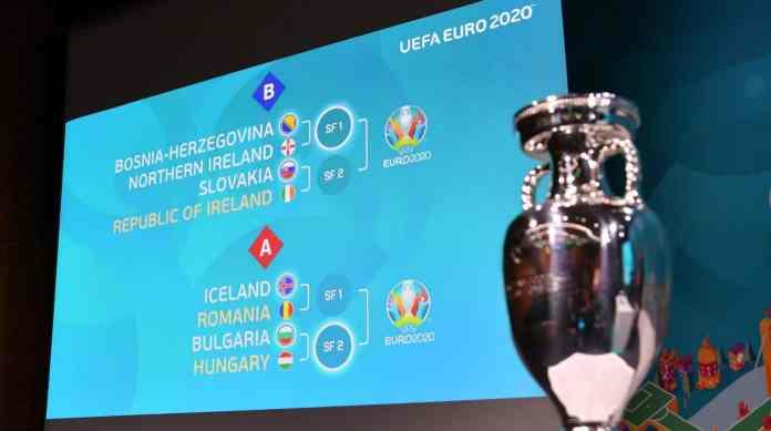 8 meciuri la barajul EURO 2020