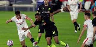 Meciul zilei in UCL: Krasnodar - Sevilla 24.11.2020 / sursa foto: La Pelotita