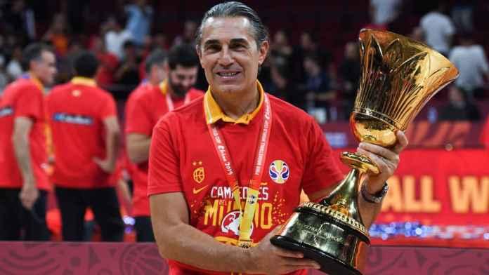 Sergio Scariolo antrenorul Spaniei la baschet