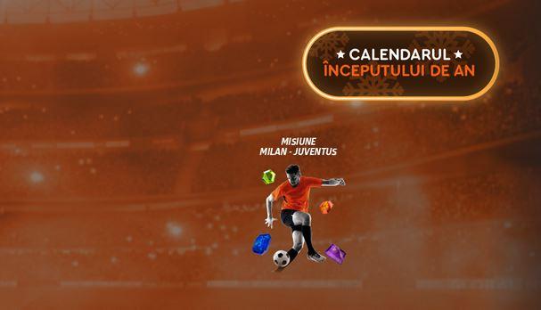 Pariază 50 RON pe Milan vs. Juve și primești două cadouri