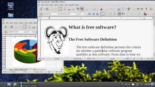Screenshot of GNU